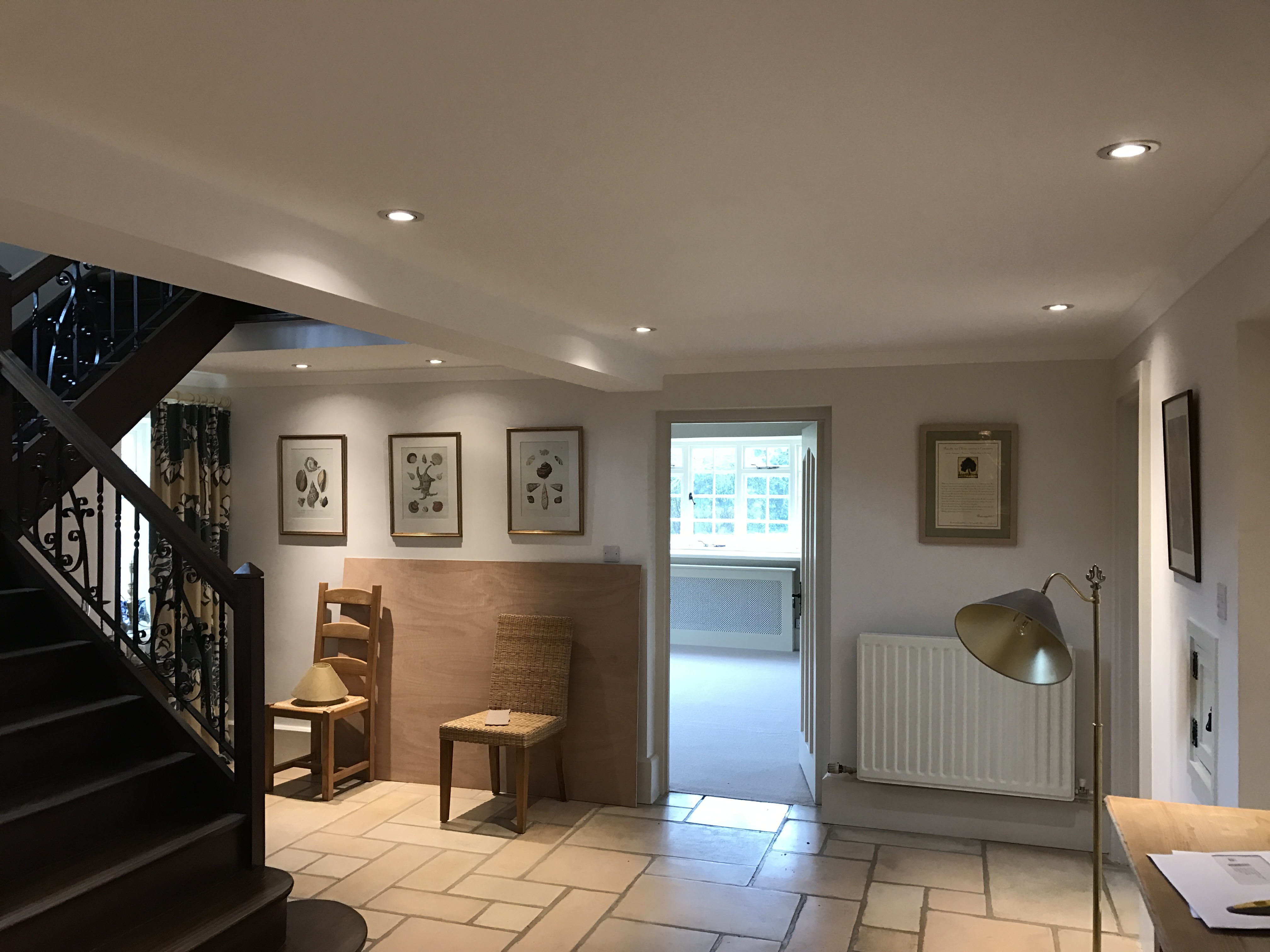 New LED hall and lounge wall lighting