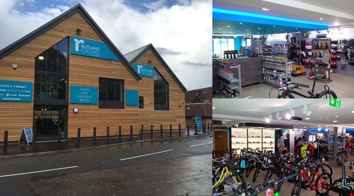 Rutland Cycling's new Ferry Meadows store open