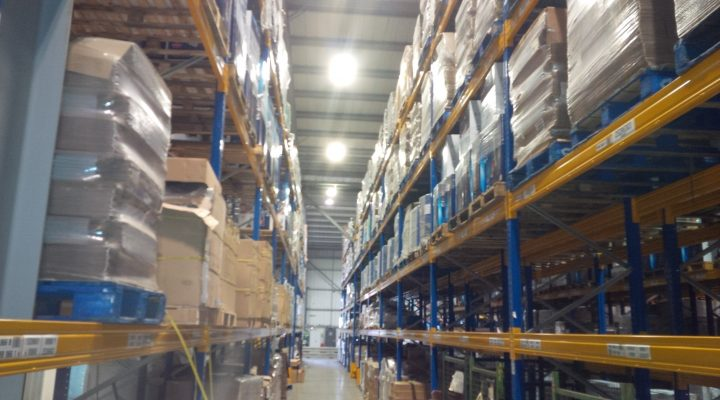 Specialist racking light replacement installations
