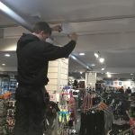 shop display lighting