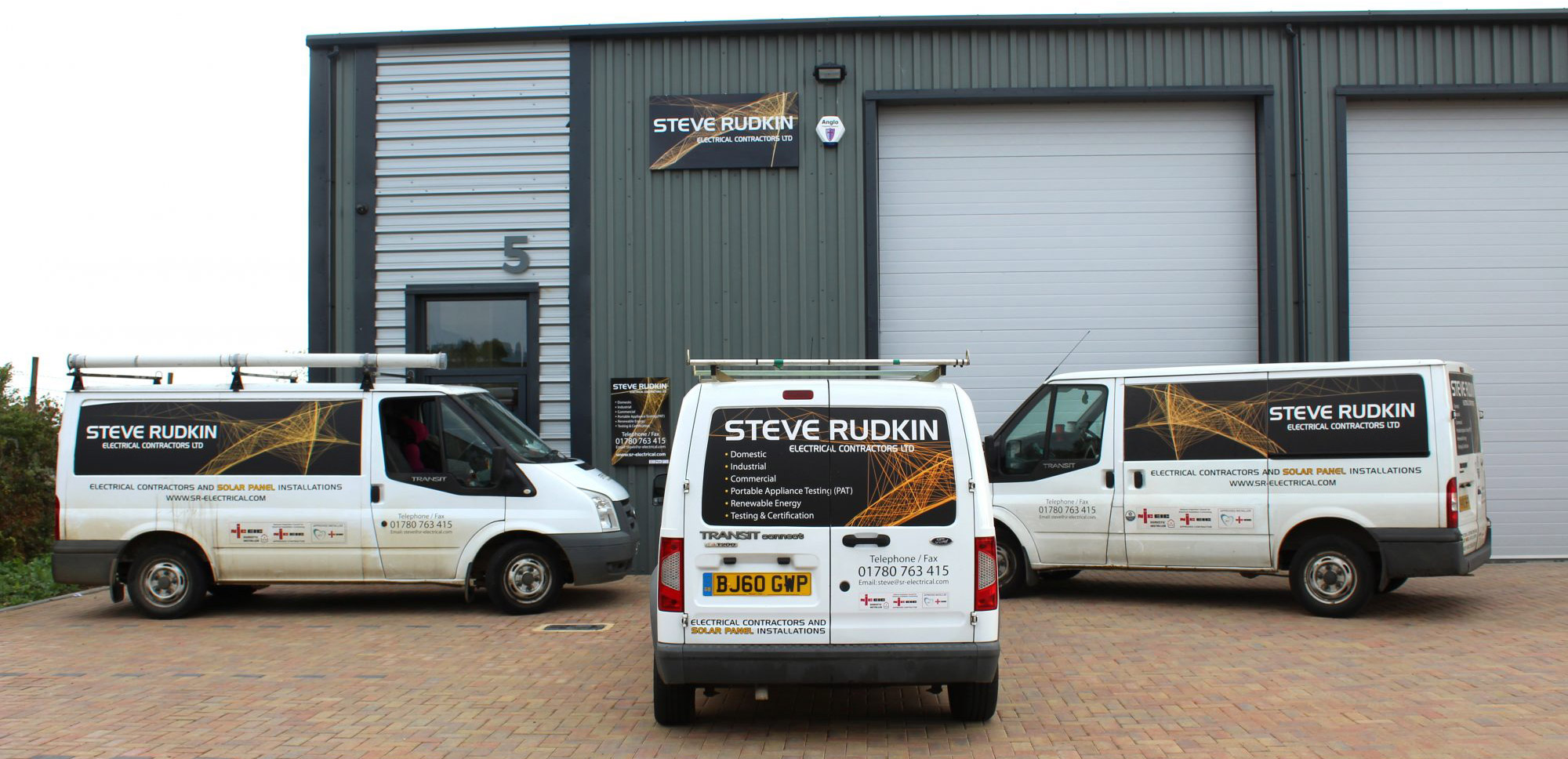 Steve Rudkin Electrical Contractors Ltd Casterton Offices