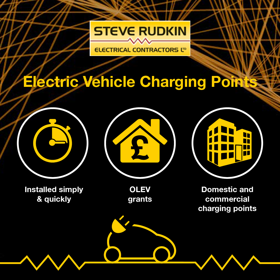 Steve Rudkin Electrical vehicle Charging Points