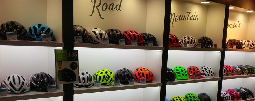 New lighting at Rutland Cycling.