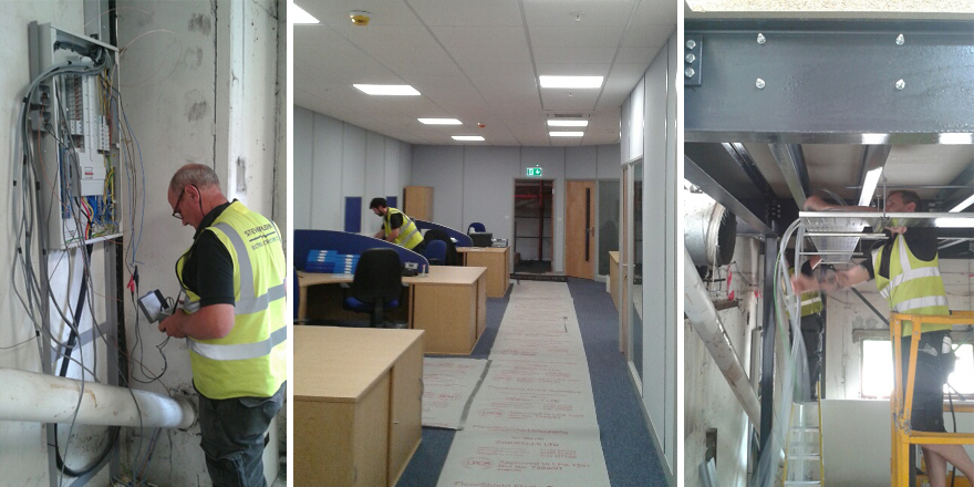 Completion of new offices at Cannock Staffordshire