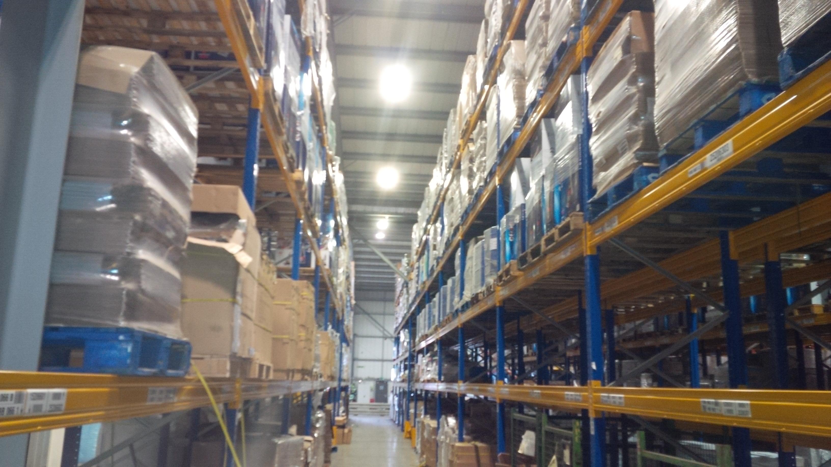 energy saving ware house lighting solutions
