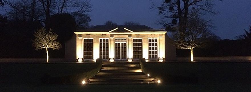 LED Ground Lights for Orangery