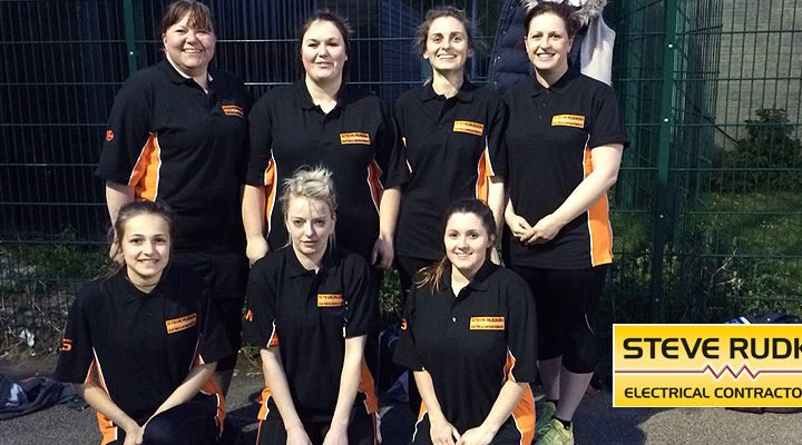 Steve Rudkin Sponsored Netball Team